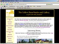 Yellow Barn Studio homepage